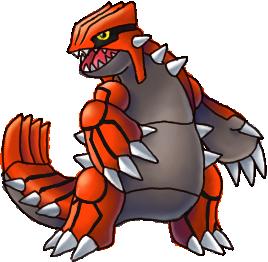 If I had/was a Pokemon... Groudon